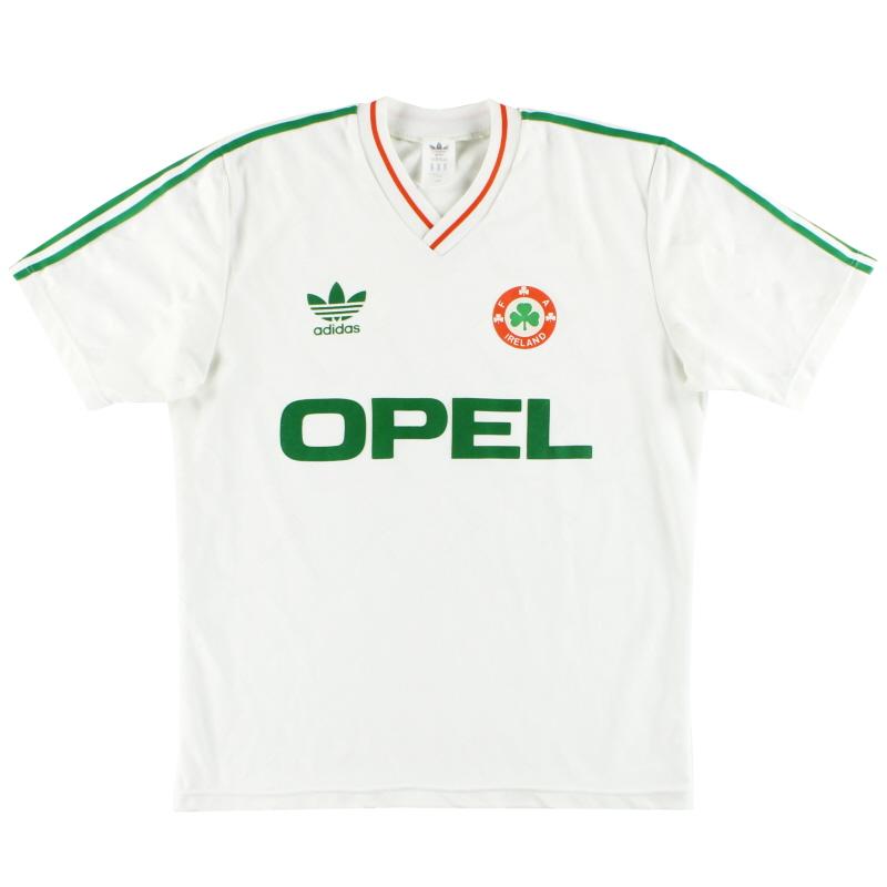1990-92 Ireland adidas Away Shirt L