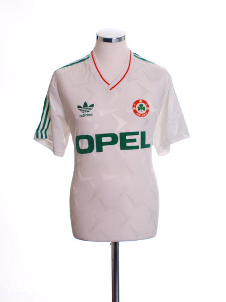 1990-92 Ireland Away Shirt L.Boys
