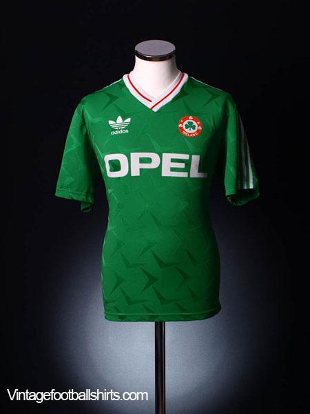 1990-92 Ireland Home Shirt L