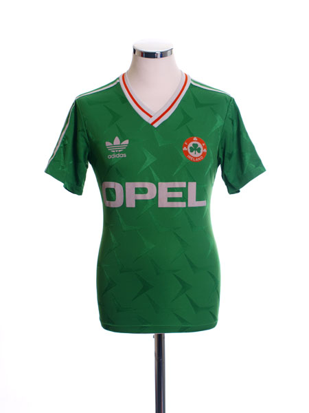 1990-92 Ireland Home Shirt L.Boys