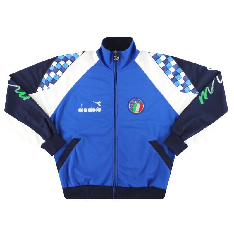 1990-92 Italy Diadora Track Jacket *Mint* L