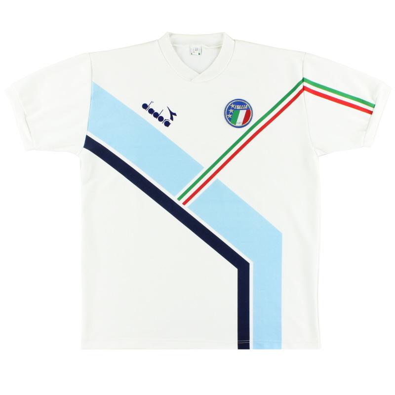 1990-92 Italy Diadora Training Shirt L