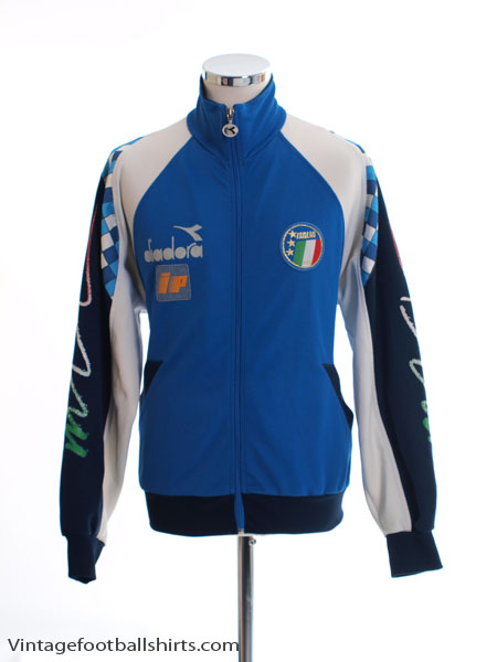 1990-92 Italy Player Issue Track Jacket S