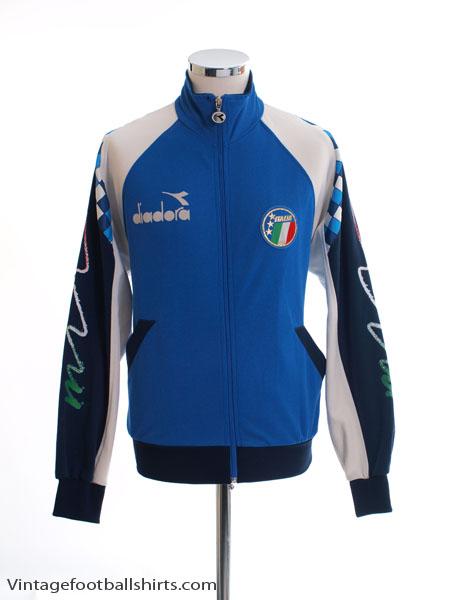 1990-92 Italy Track Jacket XXXL