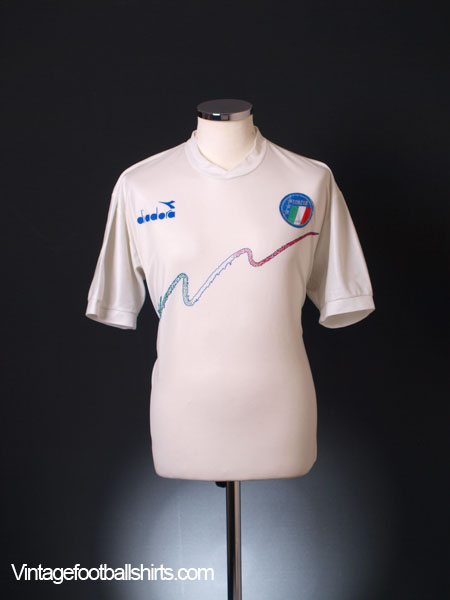 1990-92 Italy Training Shirt L