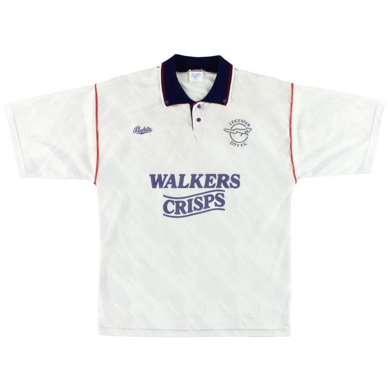 1990-92 Leicester Bukta Away Shirt M