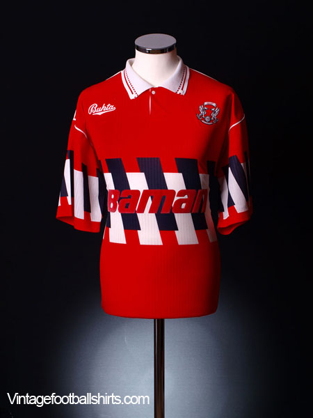 1990-92 Leyton Orient Home Shirt XL