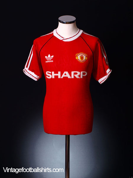 0a9c3c1aa2e 1990-92 Manchester United Home Shirt S for sale