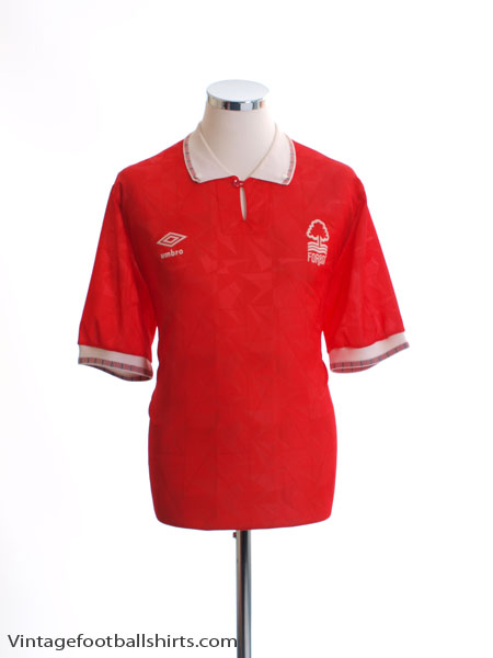 1990-92 Nottingham Forest Home Shirt XL