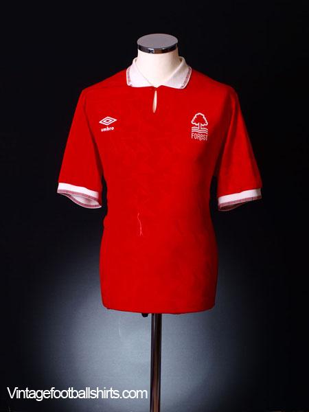 1990-92 Nottingham Forest Home Shirt S