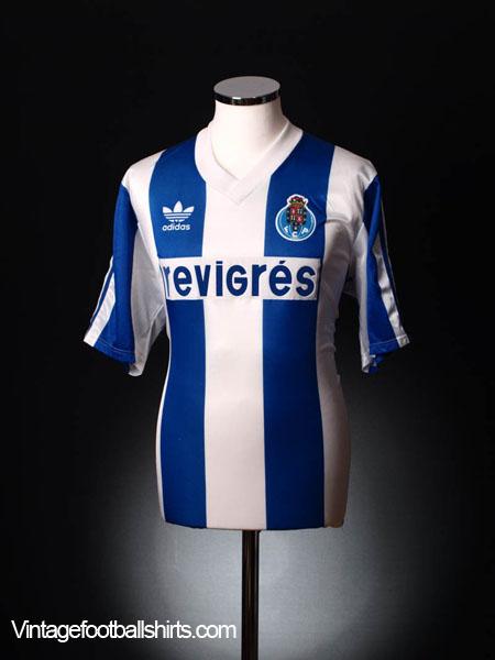1990-92 Porto Home Shirt XL