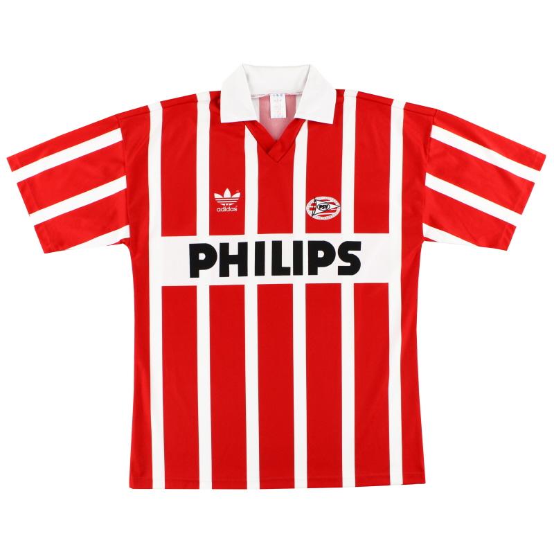 1990-92 PSV adidas Home Shirt #9 (Romario) *Mint* L