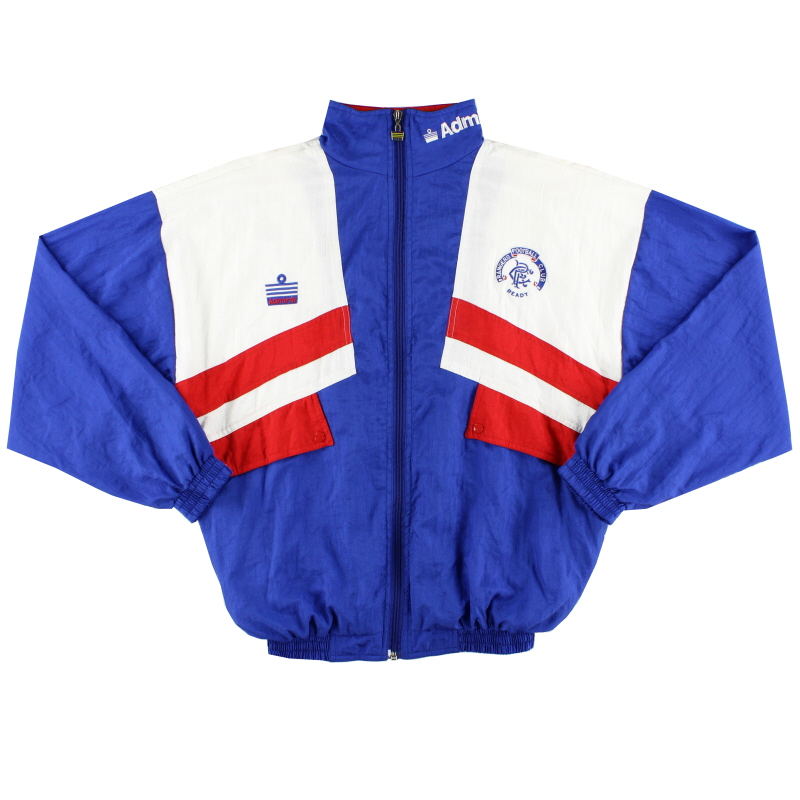 1990-92 Rangers Admiral Shell Jacket *As New* S