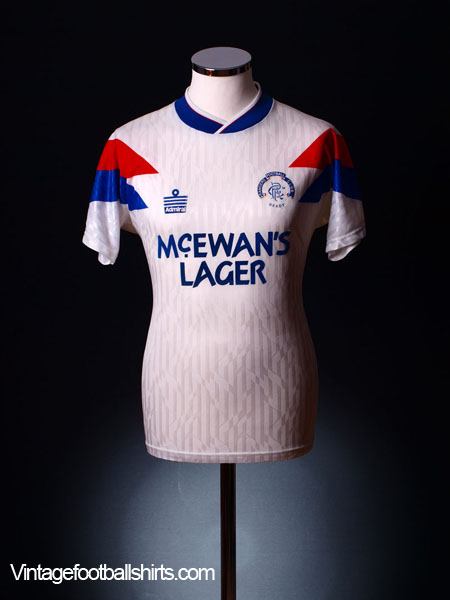 1990-92 Rangers Away Shirt S