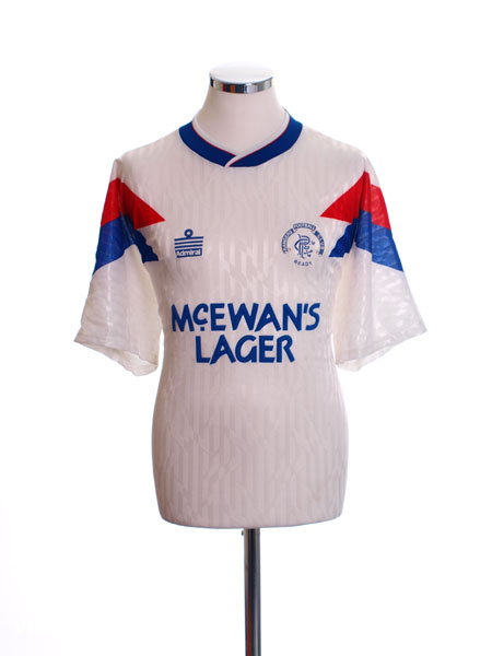 1990-92 Rangers Away Shirt XL