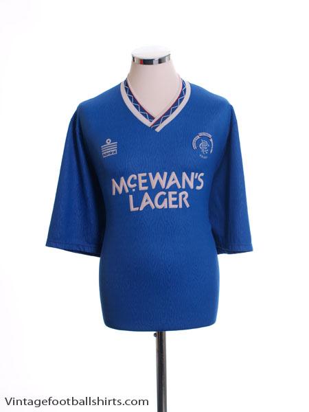 1990-92 Rangers Home Shirt M