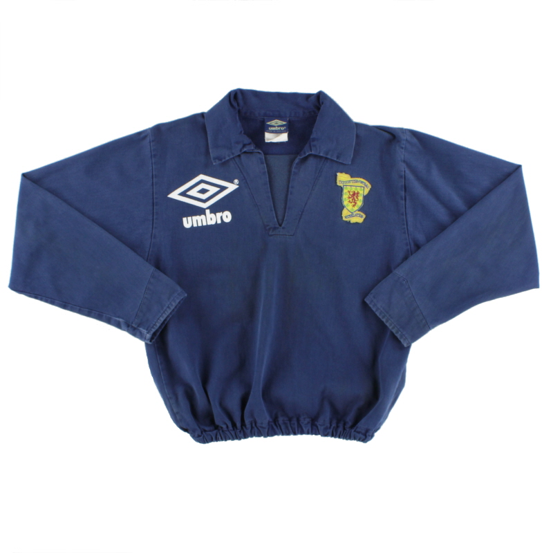 1990-92 Scotland Drill Top L.Boys
