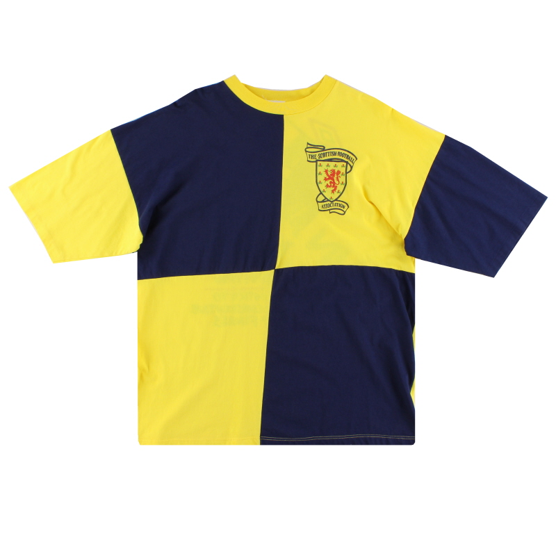 1990-92 Scotland Umbro T-Shirt XL