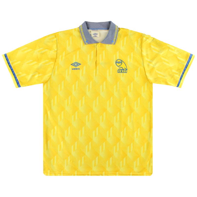 1990-92 Sheffield Wednesday Away Shirt L