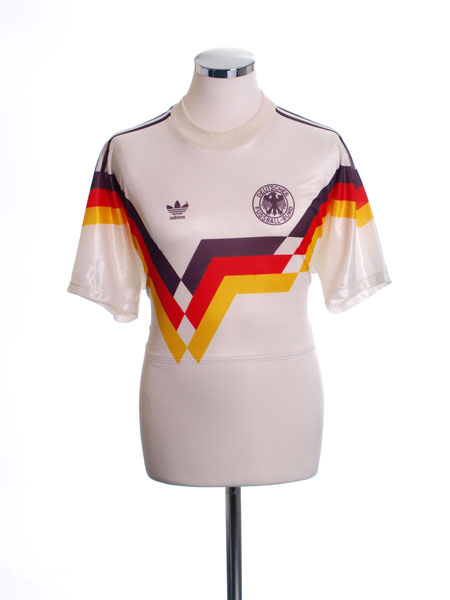 1990-92 West Germany Home Shirt M