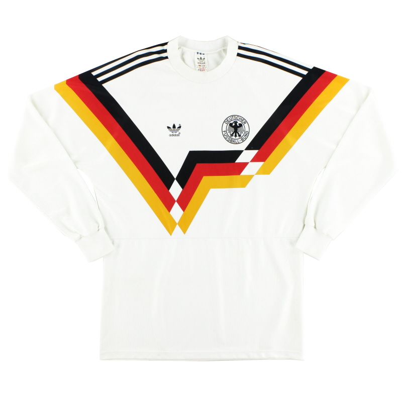 1990-92 West Germany Home Shirt L/S L