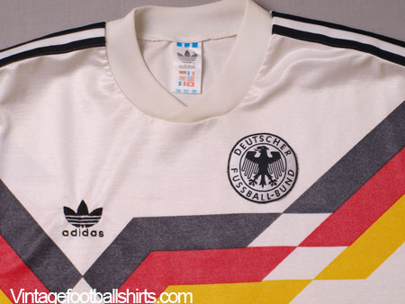 1990 92 West Germany Match Issue Home Shirt 5 L For Sale
