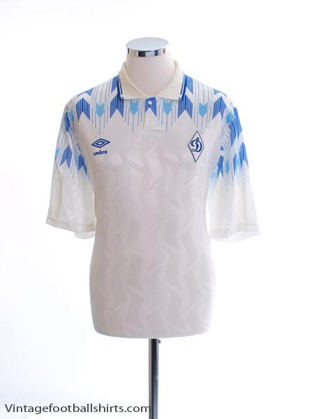 1990-93 Dynamo Moscow Home Shirt L