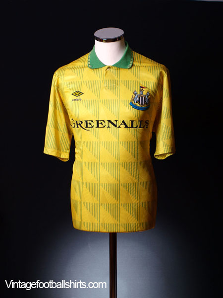 1990-91 Newcastle Away Shirt L