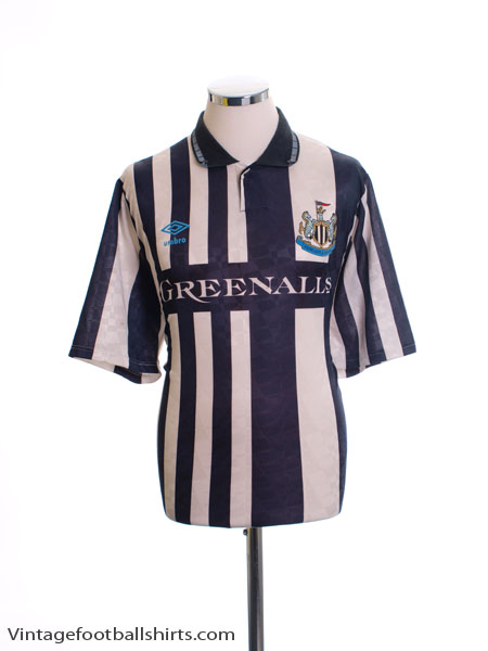 1990-93 Newcastle Home Shirt L