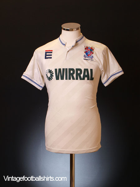 1990 Tranmere Rovers 'Wembley 1990' Home Shirt S
