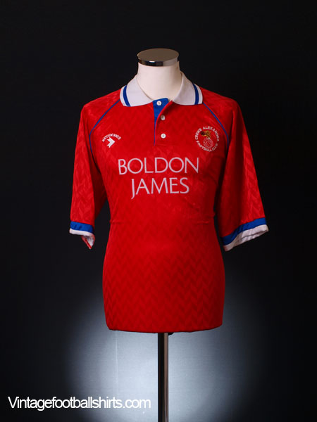 1991-92 Crewe Alexandra Home Shirt L