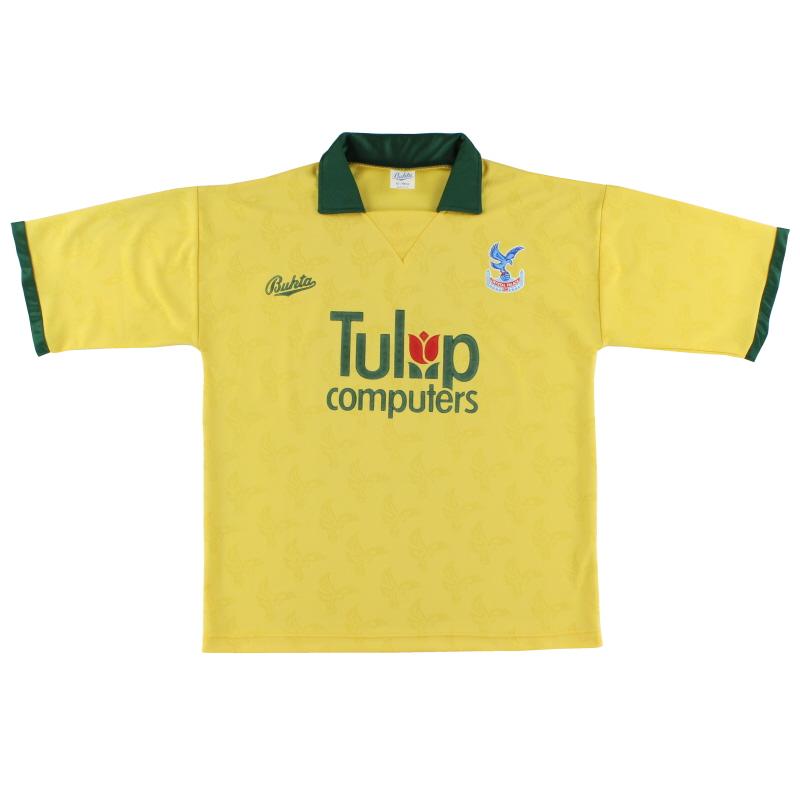 1991-92 Crystal Palace Away Shirt L.Boys