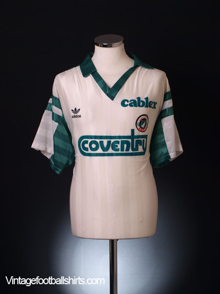 1991-92 Deportivo Mandiyu Home Shirt XL