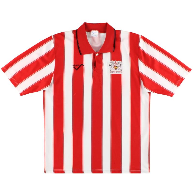 1991-92 Exeter Ribero Home Shirt M
