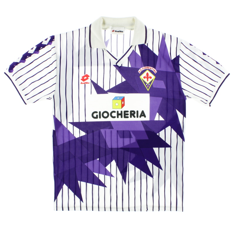 1991-92 Fiorentina Away Shirt L