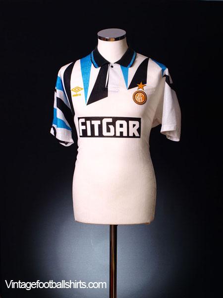 1991-92 Inter Milan Away Shirt *BNIB* L