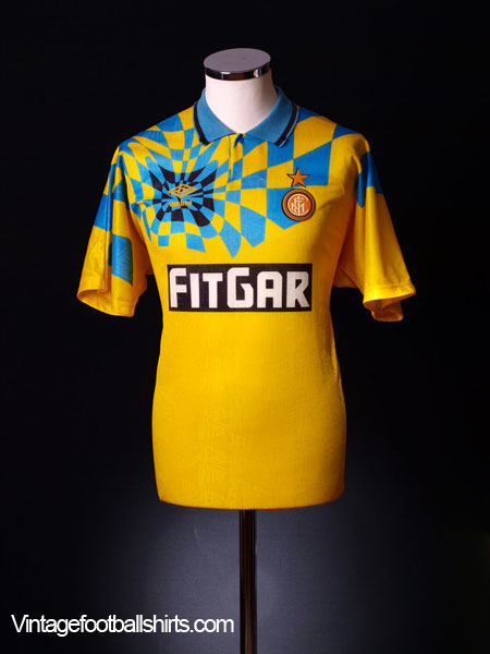 1991-92 Inter Milan Third Shirt XL