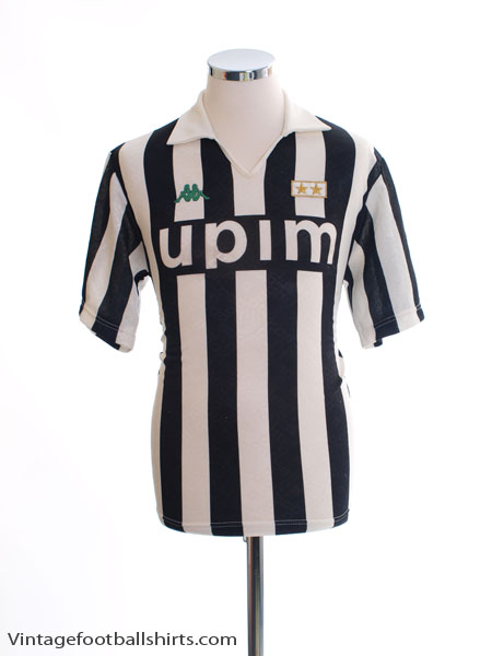 1991-92 Juventus Home Shirt M