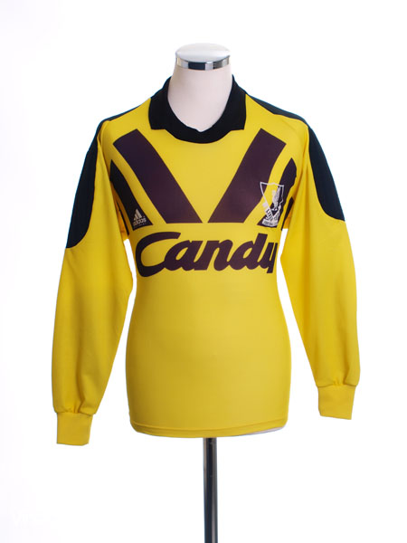 1991-92 Liverpool Goalkeeper Shirt S