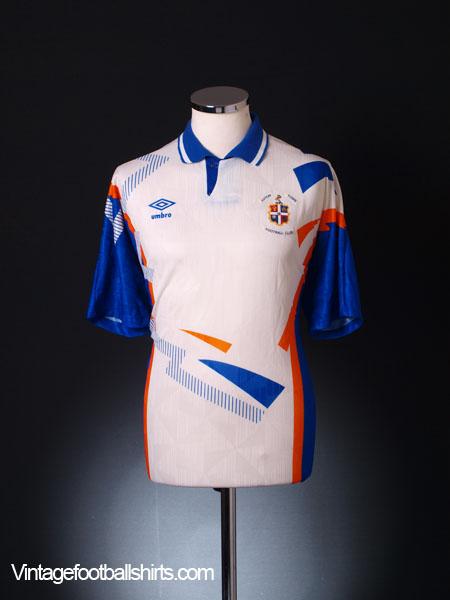 1991-92 Luton Town Home Shirt *Mint* XL