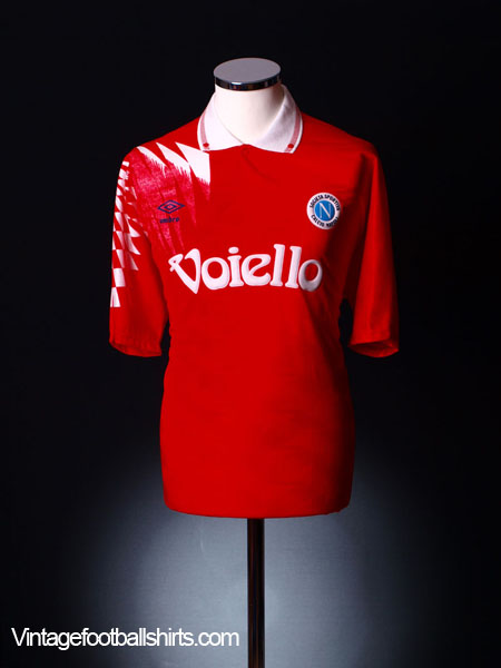 1991-92 Napoli Third Shirt *BNIB* L