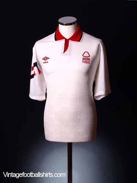 1991-92 Nottingham Forest Away Shirt XL