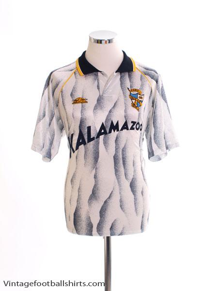 1991-92 Port Vale Home Shirt L