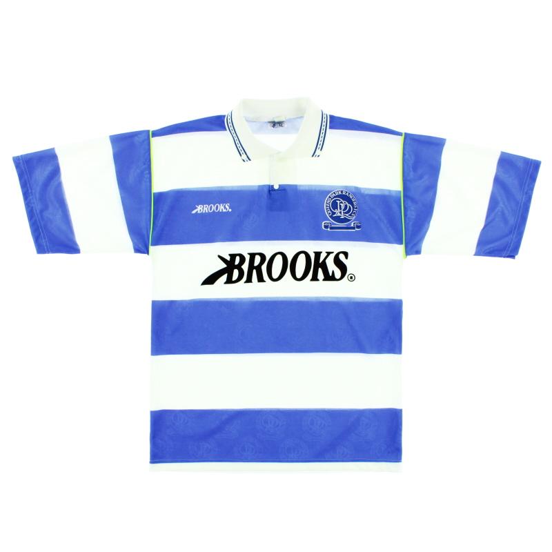 1991-92 QPR Home Shirt S