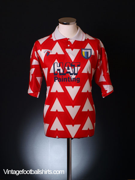 1991-92 Reading Away Shirt L