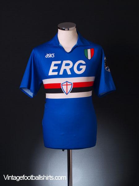 0a1dcadd16681e 1991-92 Sampdoria Home Shirt M for sale