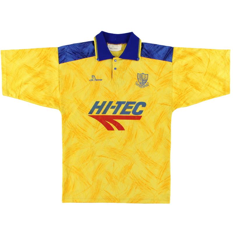 1991-92 Southend Away Shirt S