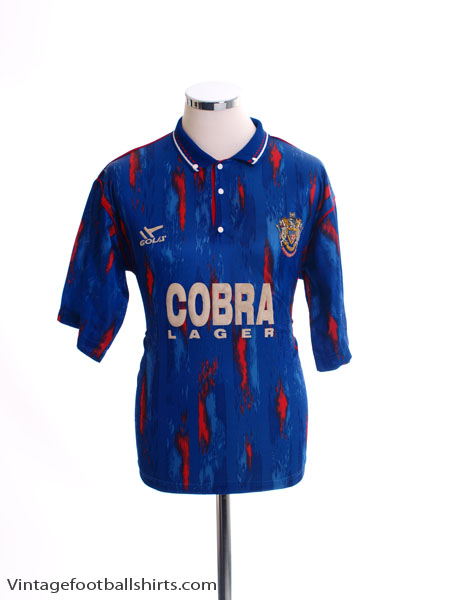 1991-92 Stockport County Home Shirt S