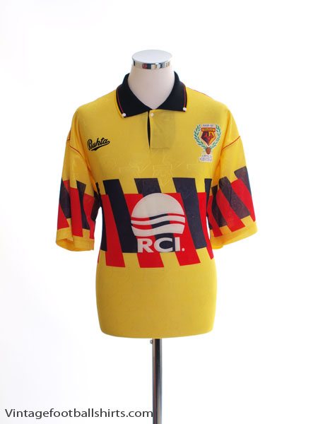 1991-92 Watford Centenary Home Shirt L