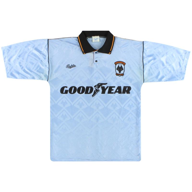 1991-92 Wolves Bukta Away Shirt S
